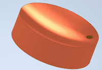 Disc of foot step bearing