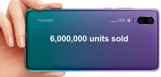 Huawei P20 Series Set Record Sales