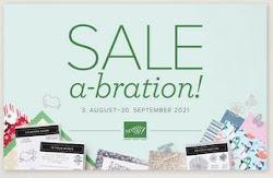 Sale-A-Bration im August/ September 2021
