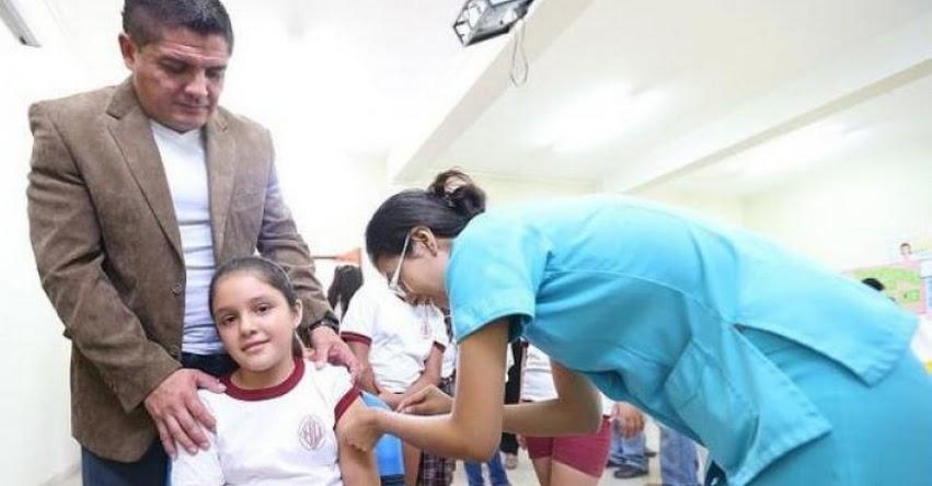 MINSA: Vacunarán a 200 mil niñas a nivel nacional para prevenir cáncer de cuello uterino - www.minsa.gob.pe