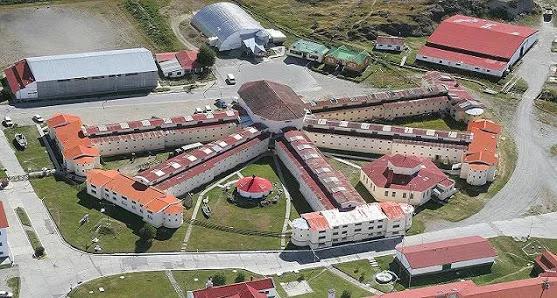 Museum in Ushuaia, Argentina.