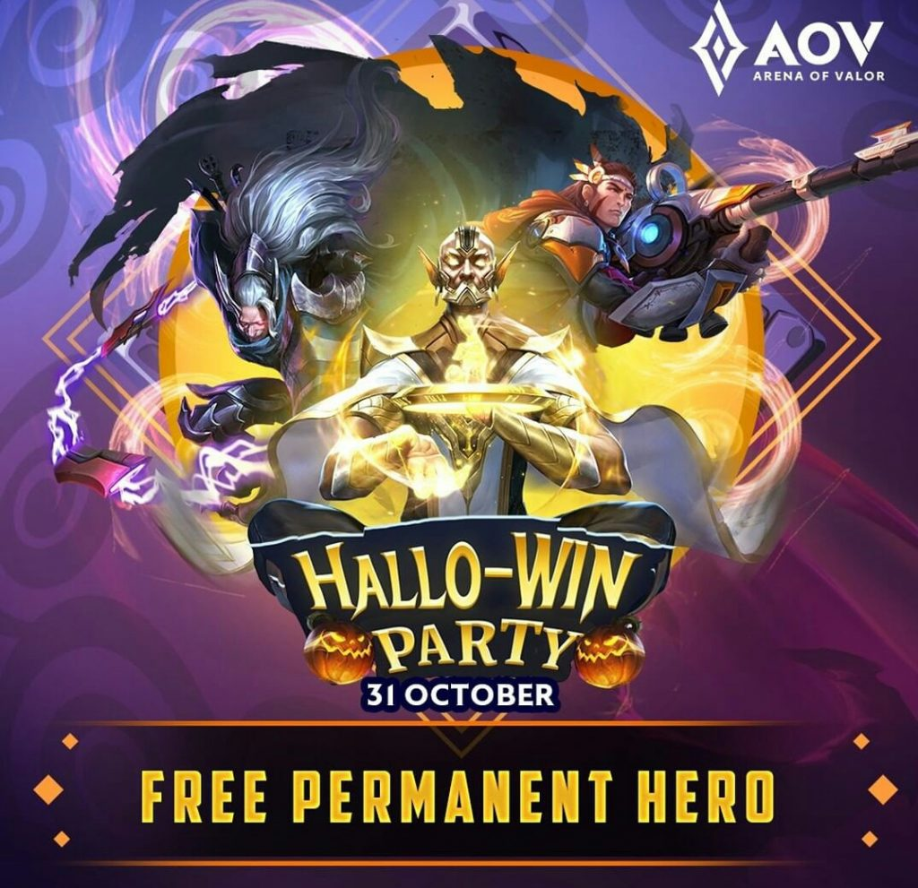 Hallo-Win Party Arena of Valor