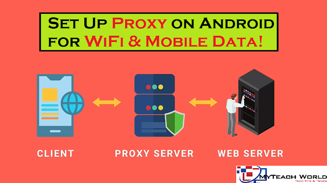 How to Set Up Proxy on Android for WiFi, and Mobile Data  Android Proxy Settings