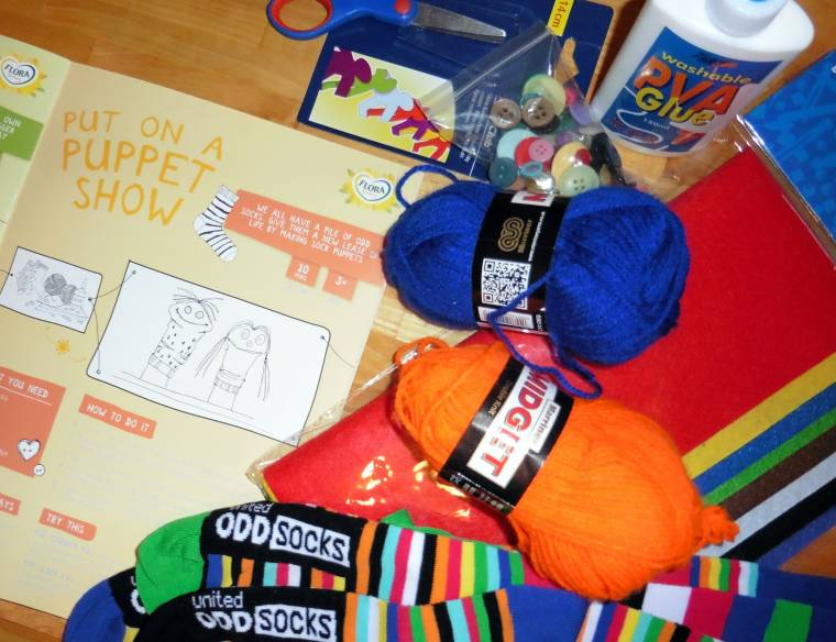 Making A Puppet Show: With Flora Butter
