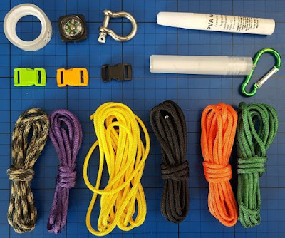 What you need to make paracord survival bands