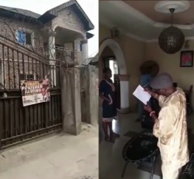 Confusion as man donates his family house to Christ Embassy, leaving his family members homeless (Watcgvideo)