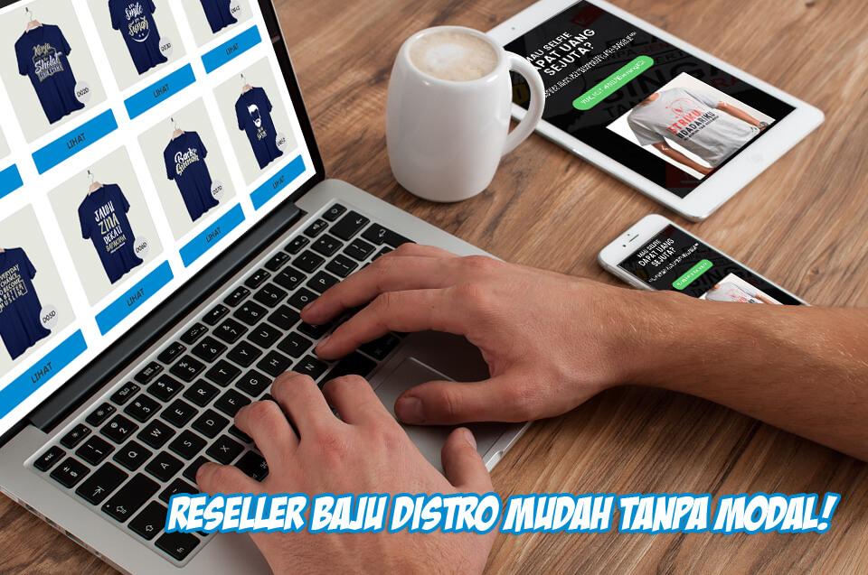 Cara Memulai Bisnis Online Reseller Baju Distro Murah ...