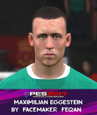 PES 2017 Maximilian Eggestein Face by Feqan