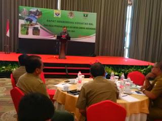 Sekda Provinsi Jambi Buka Rapat Sinkronisasi Kegiatan RHL Pada Balai Pengelolaan DAS Dan Hutan Lindung Batanghari tahun 2019.