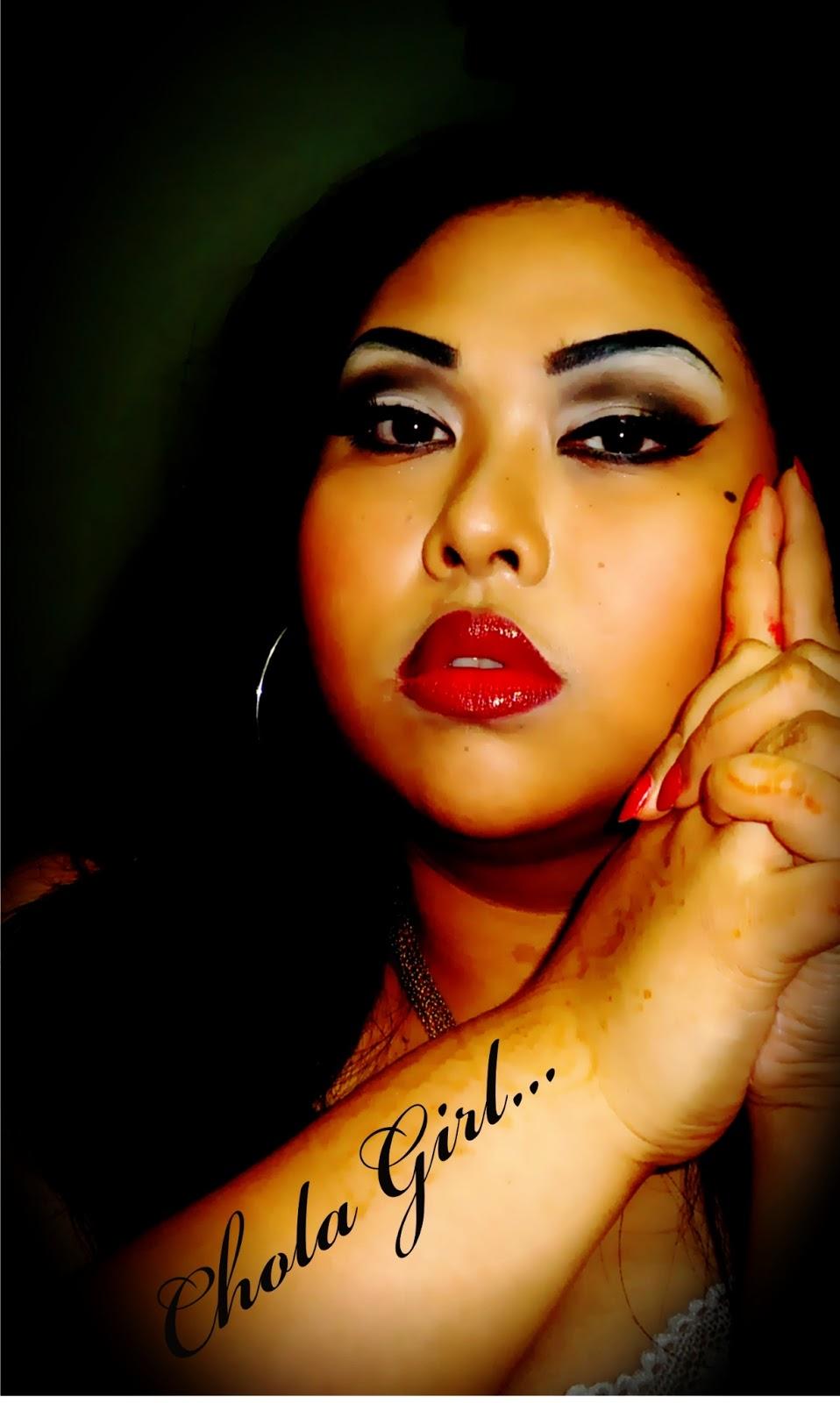 Chola Makeup Tutorial Funny - Mugeek Vidalondon