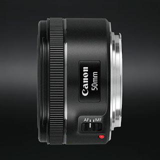 Canon EF 50mm f/1.8 STM Lens - Aperture Test