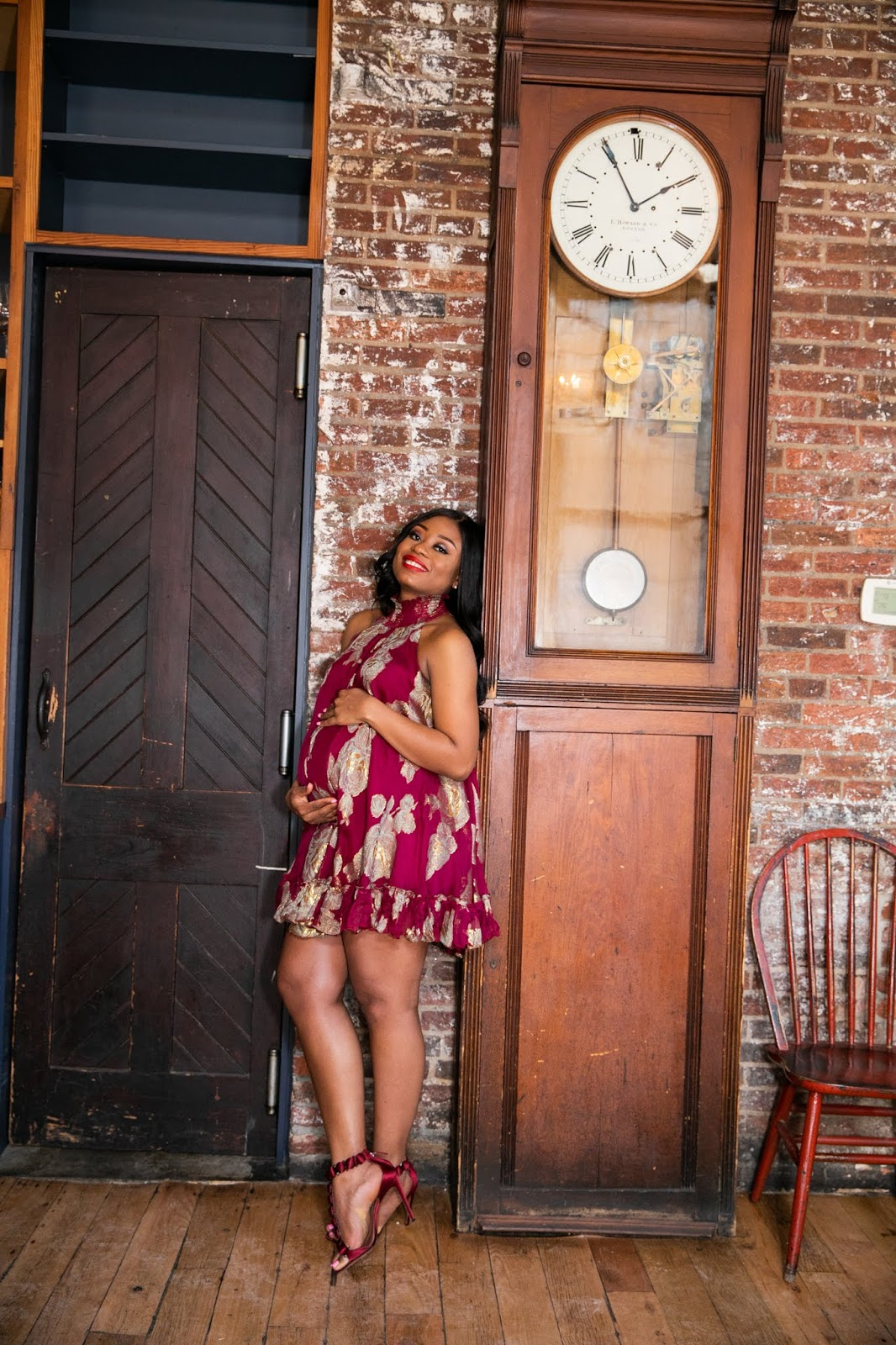 Stella-Adewunmi-of-Jadore-Fashion-share-baby-shower-outfit