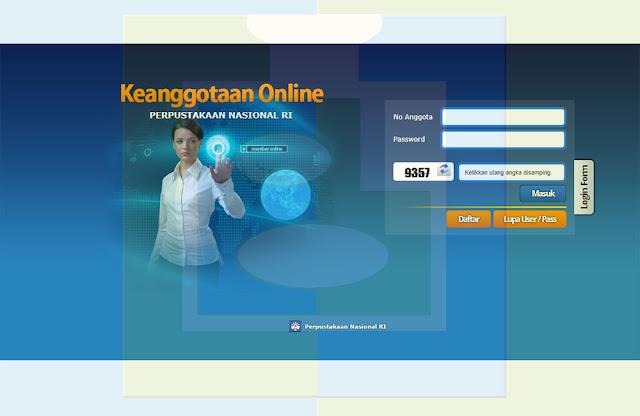 Laman Website Keanggotaan Online Perpustakaan Nasional RI - udibaracom
