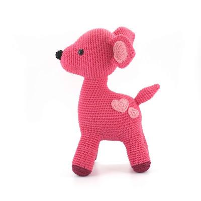 deer toy crochet pattern