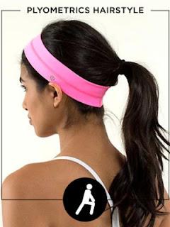 Workout Hairstyles - PLYOMETRICS HAIRSTYLE