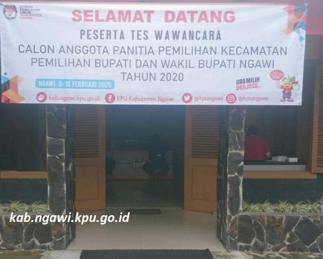 Melalui RRI Madiun, KPU Ngawi Kabarkan Pemilihan Bupati