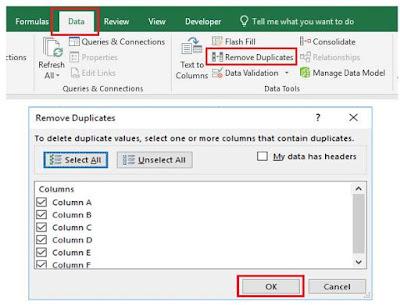 Cara Mencari Data Duplikat di Excel menggunakan Conditional Formatting