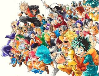 ヒロアカ   僕のヒーローアカデミア    My Hero Academia   Hello Anime !