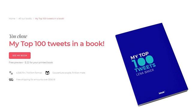 كيفية تحويل تغريداتك في تويتر إلى كتاب