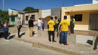 hoyennoticia.com, Alcaldía de Maicao interviene obras civiles privadas