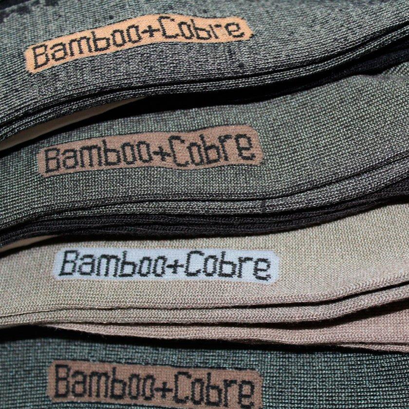 Calcetines de Bamboo  de Cobre