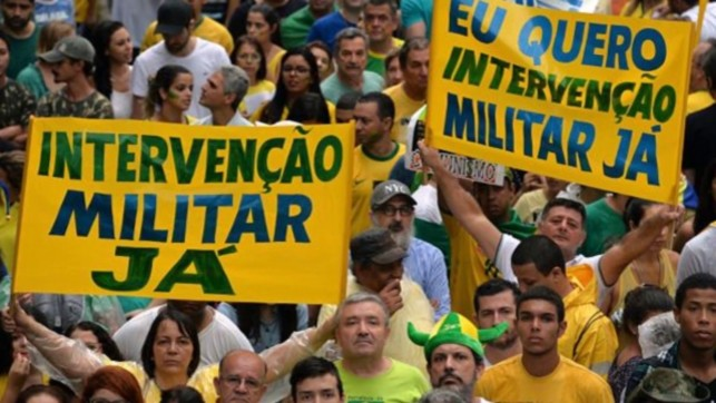 Manifestação dia 15 de Março contra o Congresso