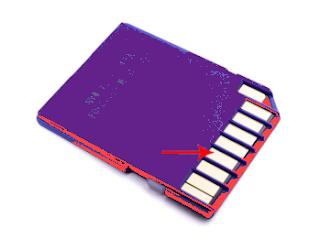 Membersihkan Sd card Dengan Penghapusan