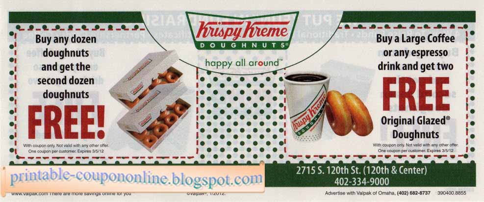 All Active Krispy Kreme Promo Codes & Coupons - December Krispy Kreme – the very sound of those words can send us salivating. Explore the delightful world of chocolate doughnuts, coffee, iced coffees, specialty coffees, seasonal doughnuts and more.