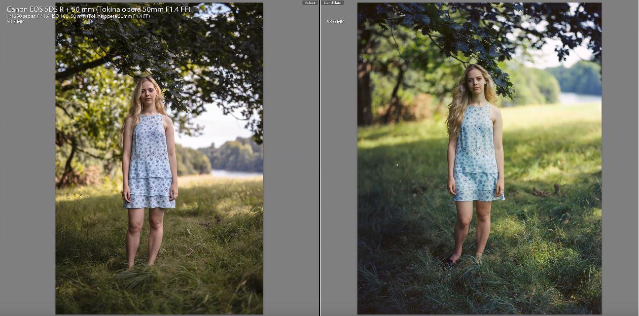 Full Frame Digital vs Large Format Film Camera: Canon 5DSR vs 4x5 Film