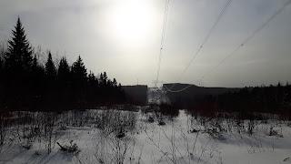 Paysage, hiver, neige, Lanaudière