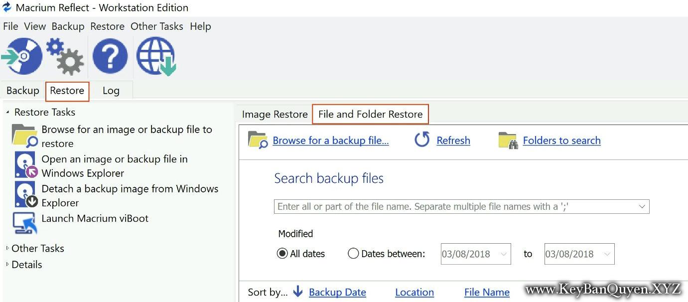 Macrium Reflect 7.2.3906 for Workstation and Server Plus Full Key, Phần mềm hỗ trợ sao lưu và phục hồi dữ liệu cho máy trạm và Server