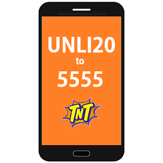 Talk N Text offers UNLI 20 ALL Day Internet Surfing for 20 Pesos