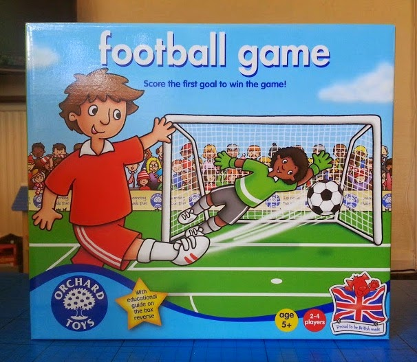 Orchard Toys Football Game for children aged 5+ review