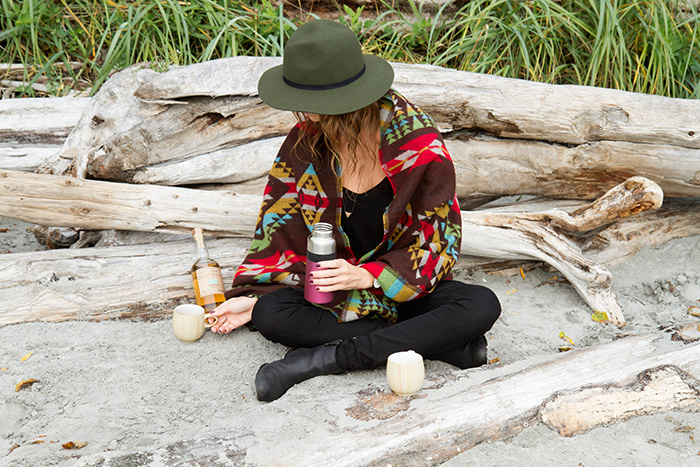 Vancouver Fashion blogger, Alison Hutchinson, for Casamigos Tequila