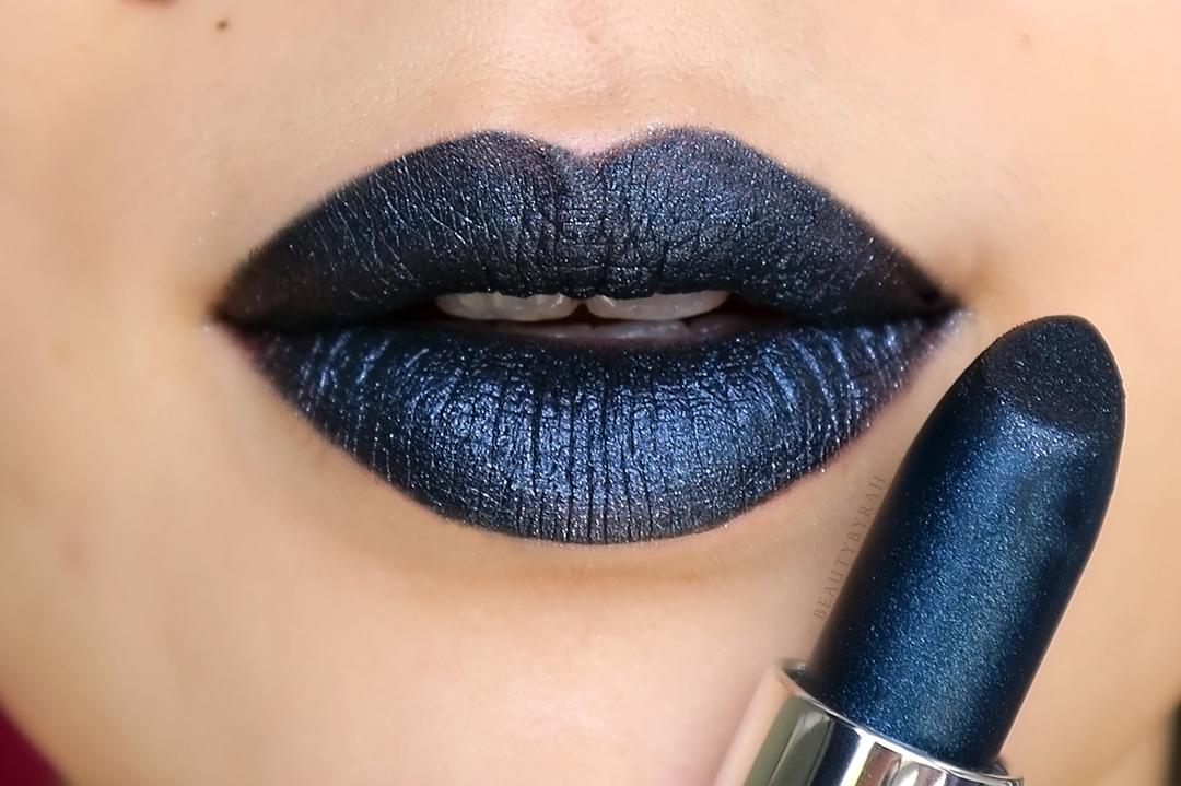 Maybelline Matte Metallics Lipstick 50 Gunmetal Swatches