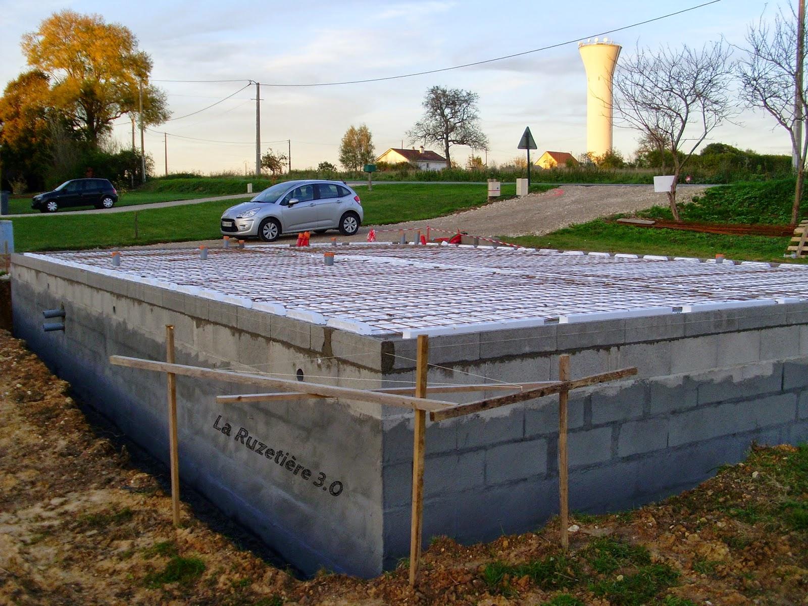 la ruzeti re 3 0 maison ossature bois rt 2012 plancher vide sanitaire 1e jour. Black Bedroom Furniture Sets. Home Design Ideas