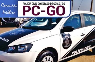 Concurso PG-GO 2018 Delegado de Polícia Substituto
