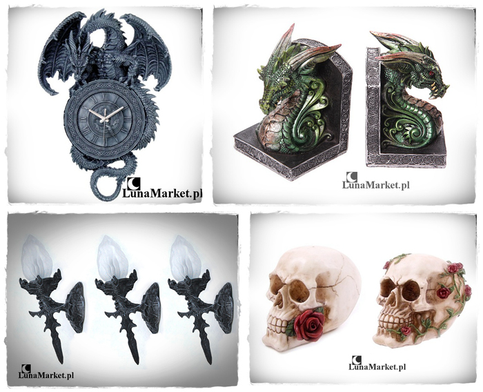 figurki fantasy smok