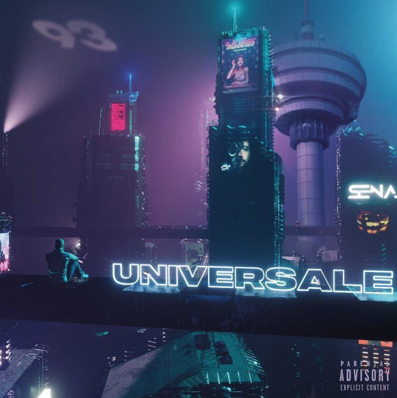 "Cover de l'album ""UNIVERSALE"" de SENA"