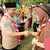 Kapolres Bangkalan Ucapkan Selamat Hari Pramuka