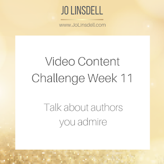 Video Content Challenge: Talk about authors you admire.