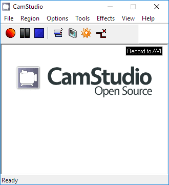 برنامج CamStudio Screen Recorder