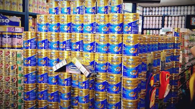Tìm dịch vụ setup Cửa hàng Sữa tại Bắc Giang