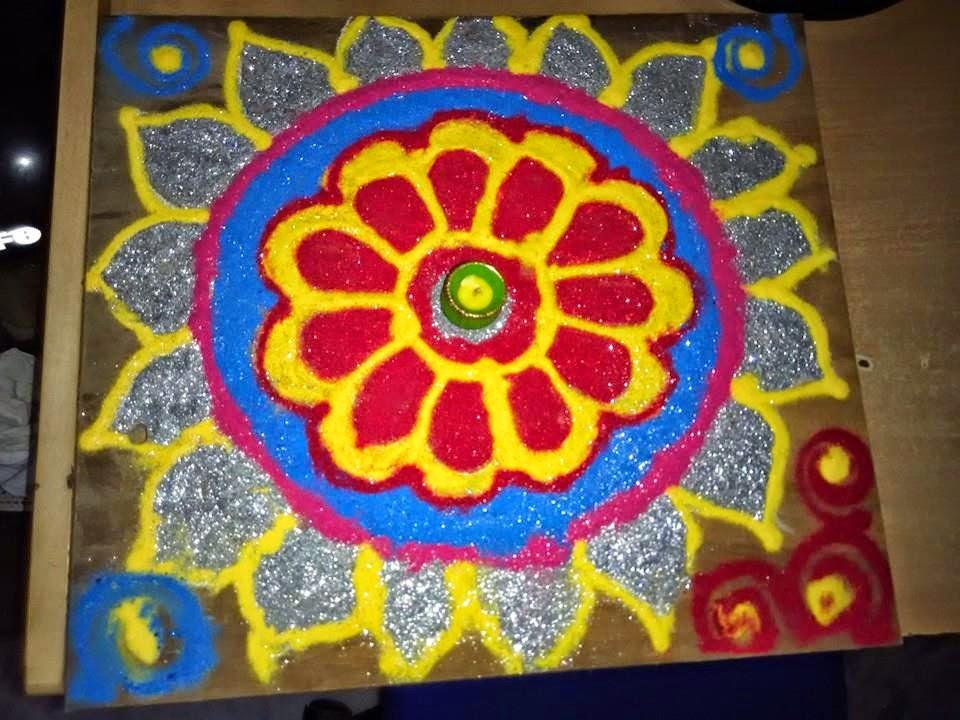 Kolam for Diwali 6