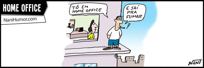 Nani Humor: HOME OFFICE