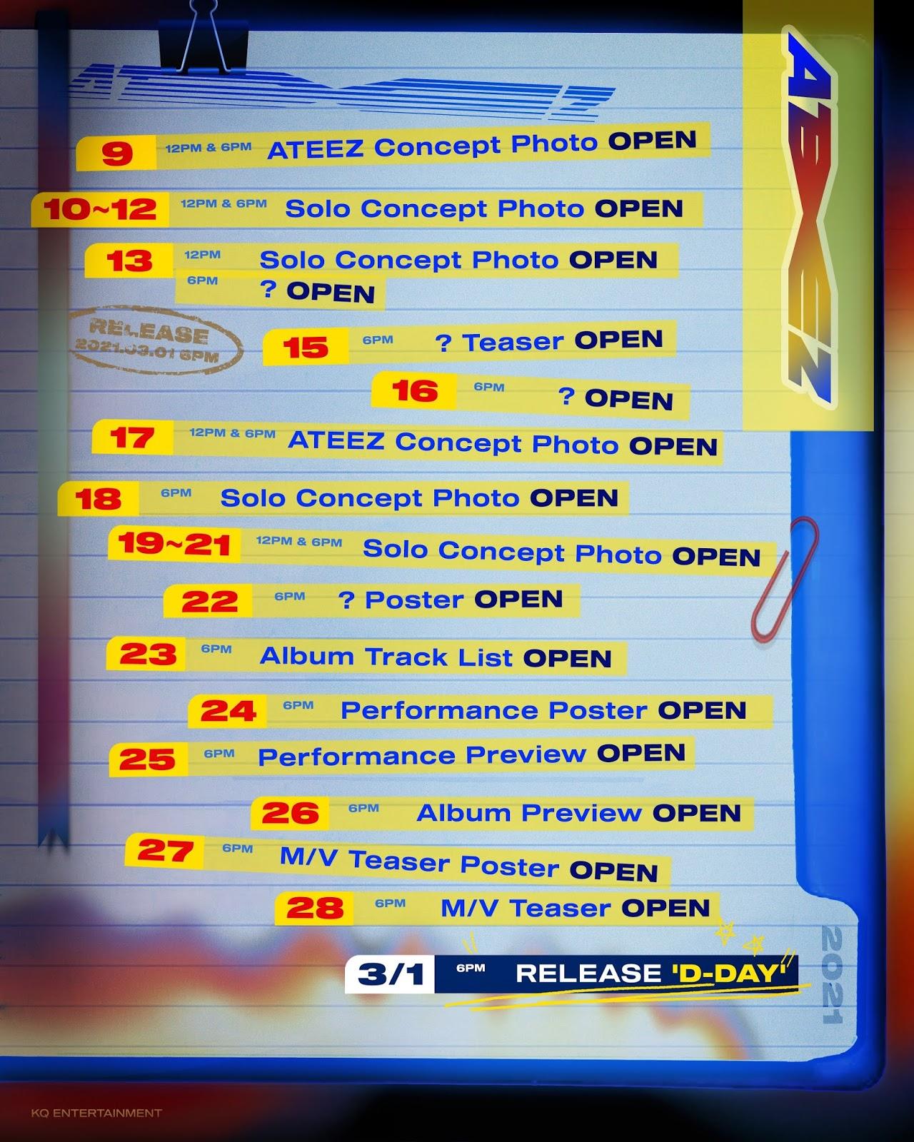 ateez zero fever part 2