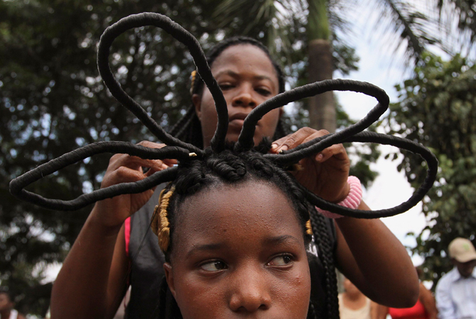 Prime Afro Colombian Hair Braiding Messages Of Freedom In Hairstyles Short Hairstyles For Black Women Fulllsitofus