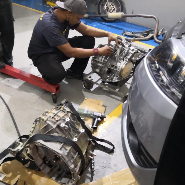 Gearbox Proton Preve Rantai Putus