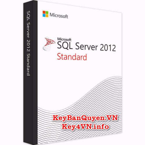 Mua bán key bản quyển SQL Server 2012 Standard .