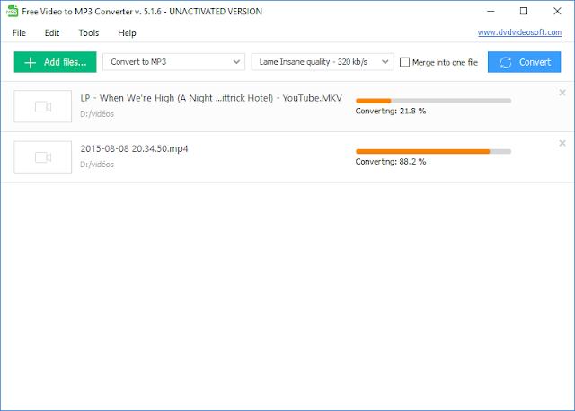 برنامج Video to MP3 Converter تحويل الفيديو الى صوت احدث اصدار